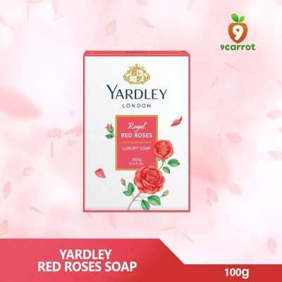 Yardely Red Rose Soap 100g