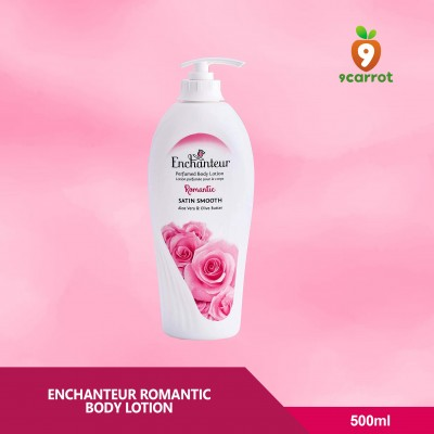 Enchanteur Romantic Body Lotion 500ml