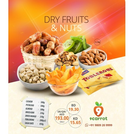 9C Dry Fruits & Nuts