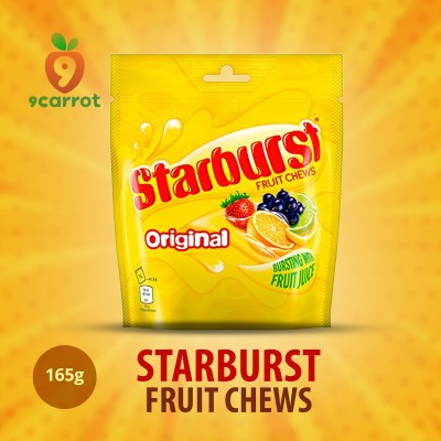 Starburst Fruit Chews 165g