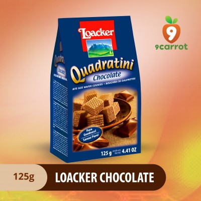 Loacker Chocolate 125g