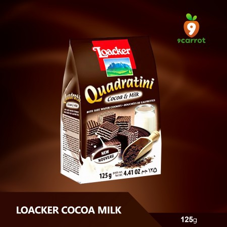Loacker Cocoa Milk 125g