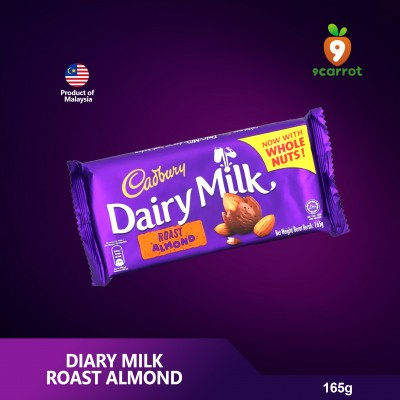 Diary Milk Roast Almond 165g