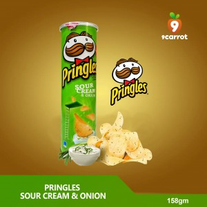 Pringles Sour Cream & Onion 158g