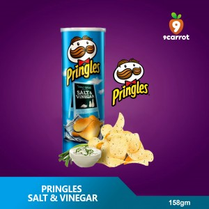 Pringles Salt & Vinegar 158g