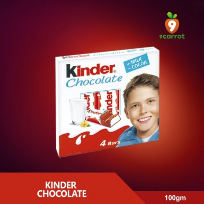 Kinder Chocolate Bar 100g