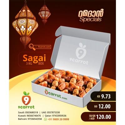 3Kg  Sagai  Carton