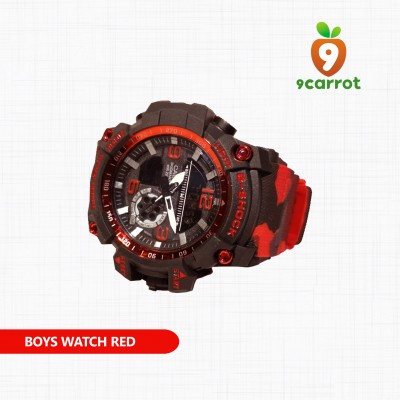 Boys Watch Red