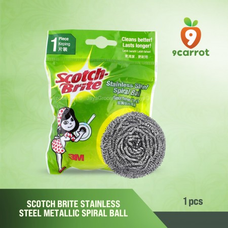 Scotch Brite Steel Spiral 3M